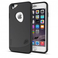 iPhone 6 & 6S - Coque Slicoo Double Protection - Noir