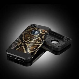 iPhone 6 & 6S - Coque Armor Double Protection avec Revêtement Façon Serpent
