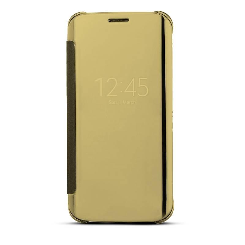 Galaxy S6 Edge Plus - Étui Flip Cover Miroir - Gold