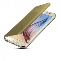 Galaxy S6 Edge Plus - Étui Flip Cover Miroir - Gold