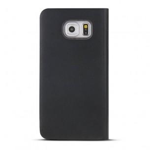 Galaxy S6 - Etui avec Fenêtre Latérale Intelligente - Noir