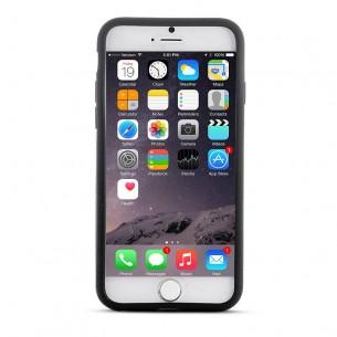 iPhone 6 & 6S - Housse en Silicone - Noir
