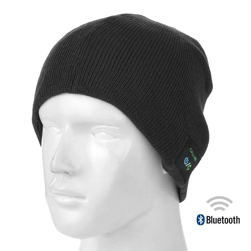 Bonnet Bluetooth avec Écouteurs Stéréo et Microphone Intégrés