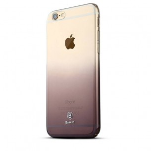 "iPhone 6 Plus & 6S Plus - Coque Transparente Baseus ""Gradient Case"" Ultra-Slim - Fond Dégradé"