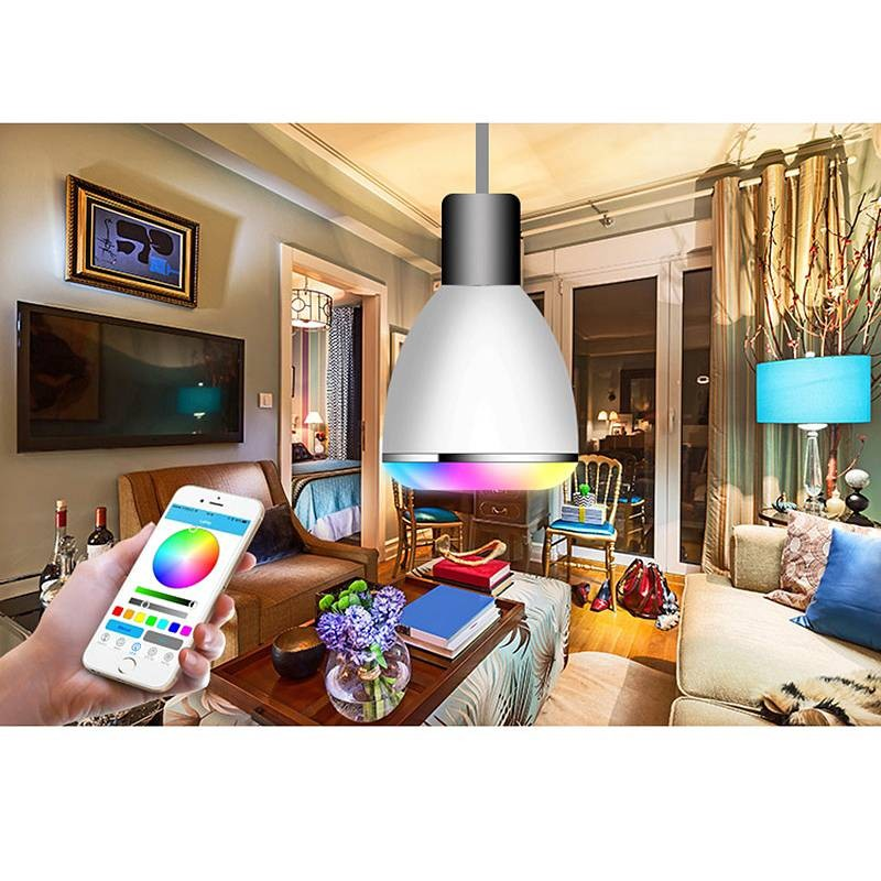 Ampoule LED Connectée Bluetooth BL08A avec Enceinte Intégrée 3 Watts - Compatible Apple iOS & Android