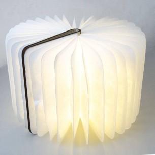 Lampe LED Origami Façon Livre