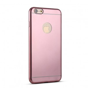 iPhone 6 & 6S - Housse en Silicone TPU Galvanisé - Rose
