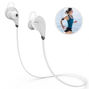 Écouteurs Bluetooth APTX QCY QY7 - Microphone et Réglage du Volume Intégrés