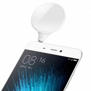 Flash Led d'Appoint Spécial Selfie pour Smartphones & Tablettes - 9 Leds  - Rotation 360°