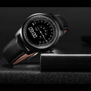 "Montre Connectée LEMFO LME1 - Écran 1,3"" - WiFi - Bluetooth - Notifications - Compatible Apple iOS et Android"