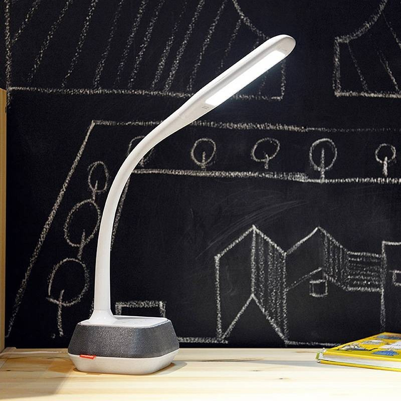 Lampe LED M6 avec Enceinte Bluetooth Intégrée