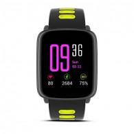 """Montre Connectée MAKIBES GV68 - Écran 1,54"""" - Bluetooth - Fréquence Cardiaque - Notifications - Compatible Apple iOS et Android"""