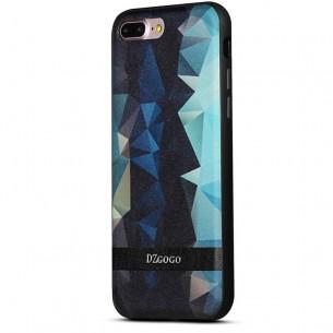 iPhone 7 Plus - Coque TPU DZgogo avec Motifs Graphiques Losanges