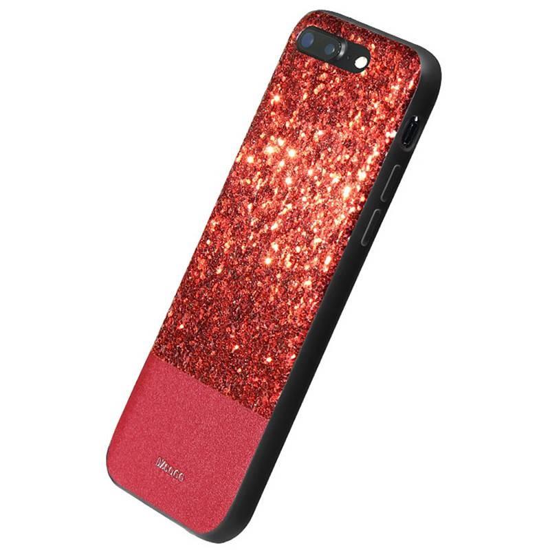 """iPhone 7 Plus - Coque DZgogo """"Bling Series"""" - Revêtement à Paillettes"""