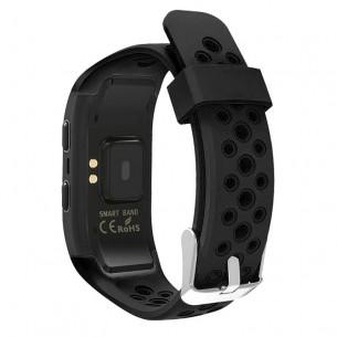 Bracelet Connecté GPS S908 - Traqueur d'Activités - Cardiofréquence - Podomètre - GPS - Étanche IP68 - Compatible iOS & Android