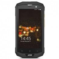 Smartphone 4G Étanche Anti-Choc AGM A8 Écran 5' HD Android 7.0 QuadCore Ram 3GB Rom 32GB WiFi Bluetooth GPS NFC