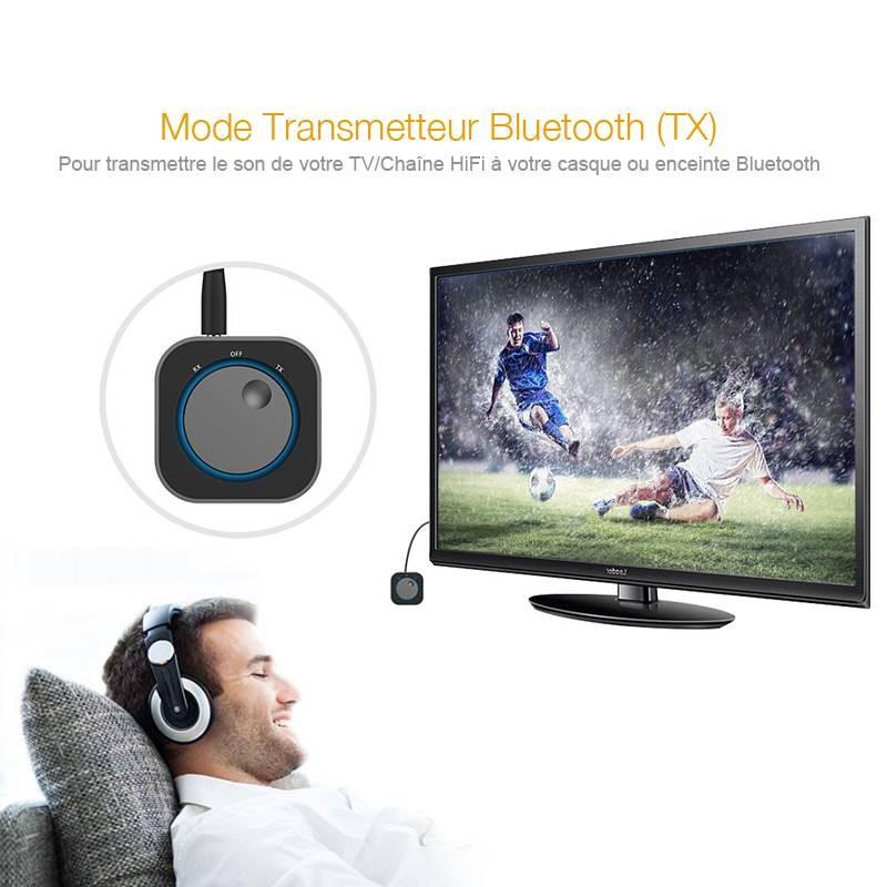 Récepteur & Transmetteur Audio Bluetooth 2-en-1 DOOSL DESR110