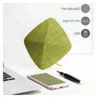 Enceinte Bluetooth JOYROOM JR-M03 - Double Haut-Parleurs - Microphone Intégré - Son HD