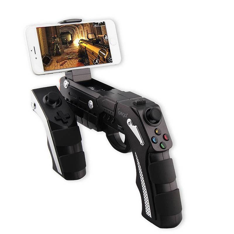 Manette de Jeux Bluetooth IPEGA PG-9057 pour Smartphone Tablette Android TV - Largeur 4,5 à 9,5 cm - Compatible iOS & Android