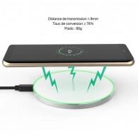 Station de Charge Qi INCHOR C1 - Rechargement Sans Fil par Induction Universelle - LED de Contrôle