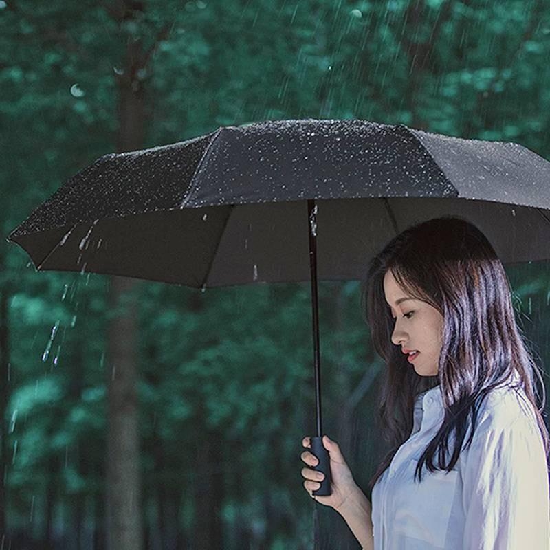 Parapluie Déperlant XIAOMI Mijia - Fermeture/Ouverture Automatiques - Baleines Aluminium Anti-Retournement - Anti UV
