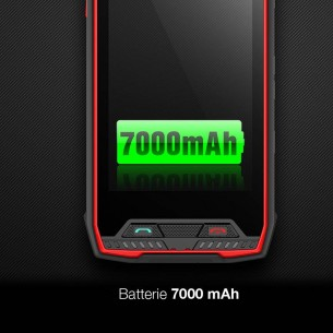 Smartphone 4G Étanche Anti-Choc CONQUEST S11 Écran 5' FHD Android 7 OctaCore Ram 6GB Rom 64GB WiFi Bluetooth GPS NFC RFID