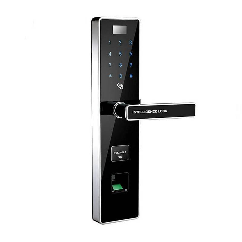 Serrure Biométrique à Empreintes Digitales - Code Numérique - Clés