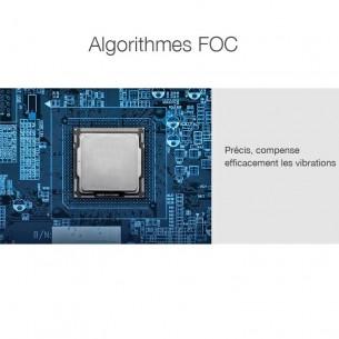 """Stabilisateur Photo/Vidéo 2 axes JJ1S - Connexion Bluetooth - Joystick - Batterie Intégrée - Pour smartphone jusqu'à 6"""""""