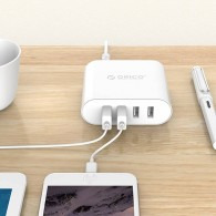 Chargeur USB 4 Ports ORICO - 30W - Pour Smartphones & Tablettes