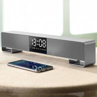 Enceinte Bluetooth Multifonctions JOYROOM M05 - Enceinte - Horloge - Appels Mains Libres - MicroSD - Radio FM