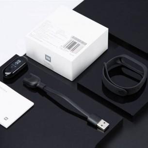 Bracelet Connecté XIAOMI Mi Band 3 - Ecran 0,78' - Traqueur d'Activité Cardiofréquence - Étanche 50m - Compatible iOS & Android