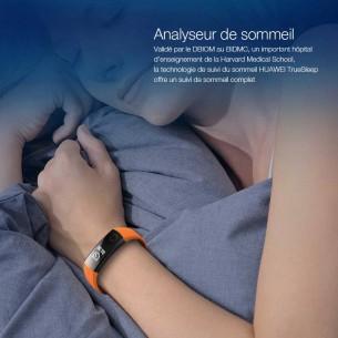 Bracelet Connecté HUAWEI Honor Band 3 - Ecran 0,91' - Traqueur d'Activité Cardiofréquence - Étanche 50m - Pour iOS & Android