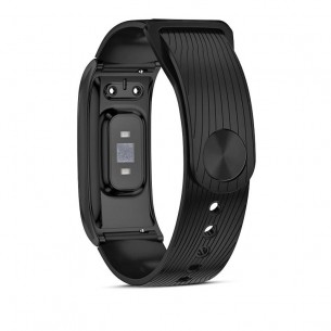 Bracelet Connecté F4 - Ecran Couleur 0,96' - Traqueur d'Activité Cardiofréquence - Tension Artérielle - Étanche - iOS & Android