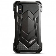 iPhone X & XS - Coque Anti-Choc Anti-Poussière Anti-Rayure R-JUST Armor - Etanche IP54