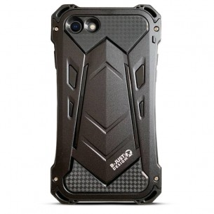 iPhone 7 & 8 - Coque Anti-Choc Anti-Poussière Anti-Rayure R-JUST Armor - Etanche IP54