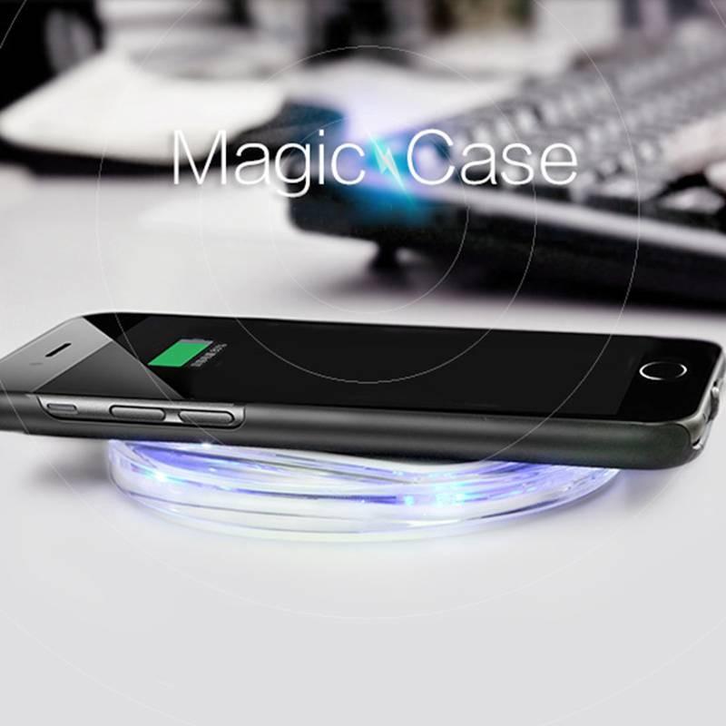 iPhone 6 Plus & 7 Plus - Coque NILLKIN Magic Case avec Récepteur de Charge Sans Fil Qi Intégré