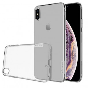 "iPhone XS Max - Coque TPU NILLKIN ""Nature"" Transparente Ultra-Slim"