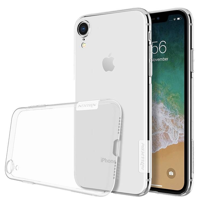 iphone xr coque tpu nillkin nature transparente ultra slim