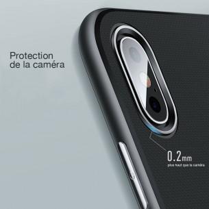 iPhone XS Max - Coque ROCK Royce Series - Double Matière Double Couleur