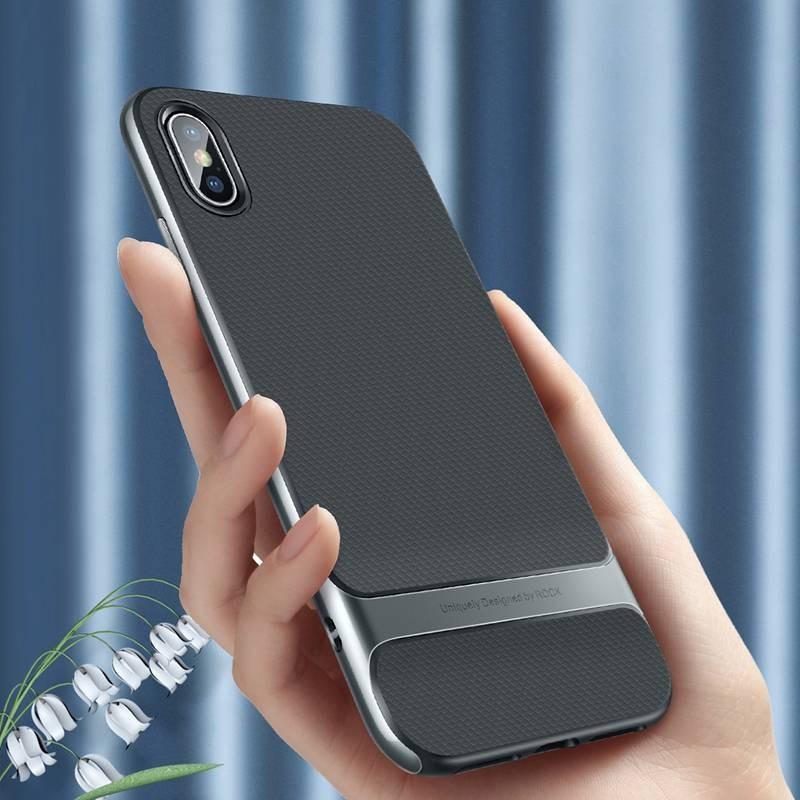 iPhone X & XS - Coque ROCK Royce Series - Double Matière Double Couleur