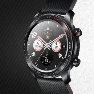 """Montre Connectée HUAWEI Honor Watch FE3 - Écran AMOLED 1,2"""" - Podomètre Fréquence Cardiaque Tension Artérielle Sommeil Météo NFC"""