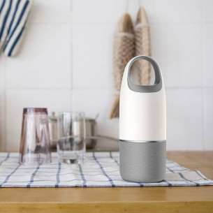 Enceinte Lampe Bluetooth NILLKIN Cozy MC3 PRO - Microphone Intégré - Lecteur de Carte MicroSD -  Fonction Power Bank