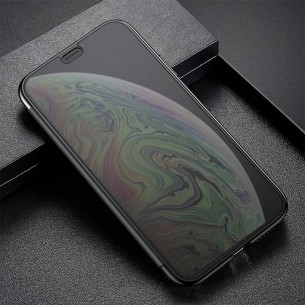 "iPhone XS Max - Étui Flip Cover Translucide BASEUS ""Touchable Case"""