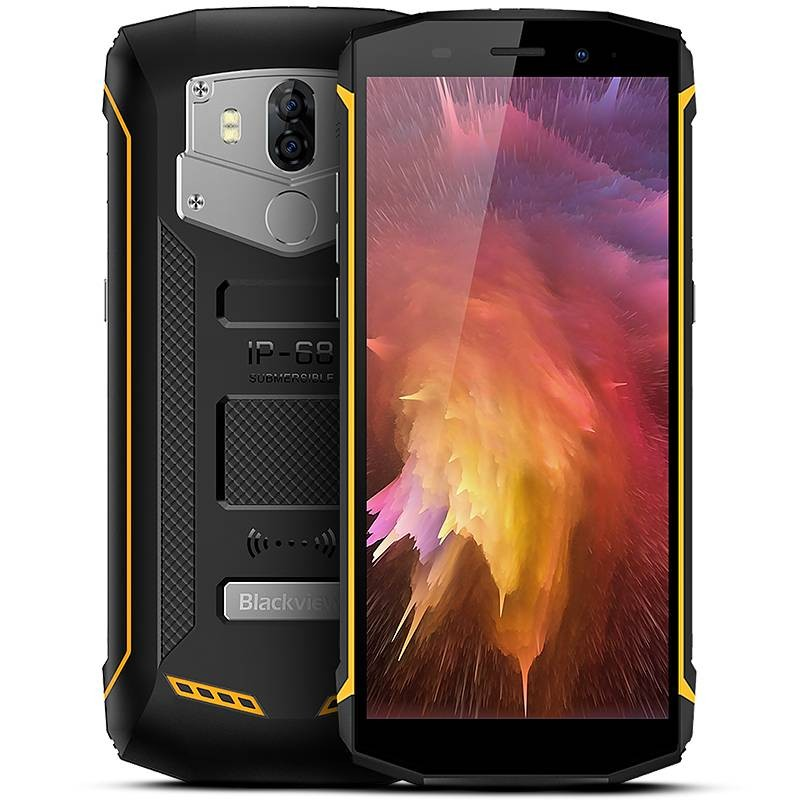 BLACKVIEW BV5800 Tri-Proof - Écran 5,5' HD+ QuadCore Ram 2GB Rom 16GB WiFi Bluetooth NFC Dual Double Objectif Batterie 5580 mAh