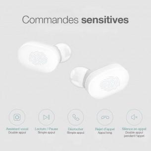 Écouteurs Bluetooth XIAOMI AirDots - Bluetooth 5.0 - Microphone Intégré - Chargeur inclus