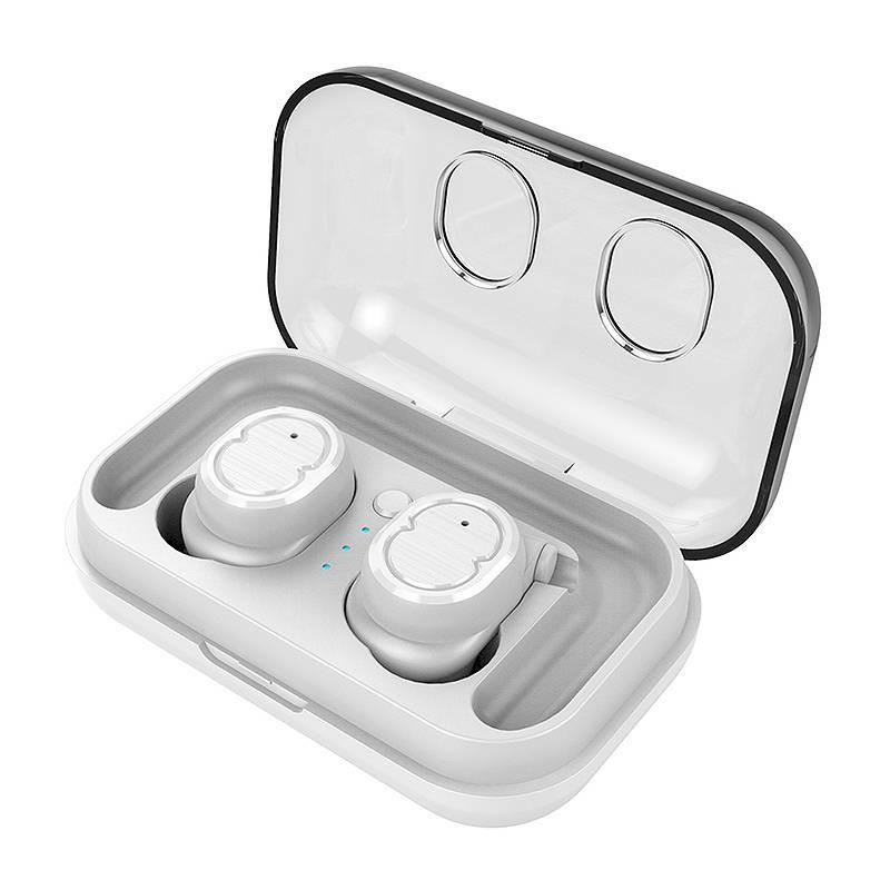 Écouteurs Bluetooth TWS-8 - Bluetooth 5.0 - Microphone Intégré - Étanches IPX5 - Chargeur inclus