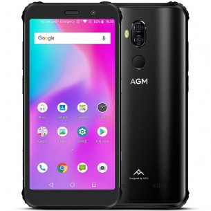 Smartphone 4G Tri-Proof AGM X3 - Écran 5,99' FHD+ OctaCore 2,8Ghz Ram 6/8GB Rom 64/128/256GB Double Cam 12+24 Mo
