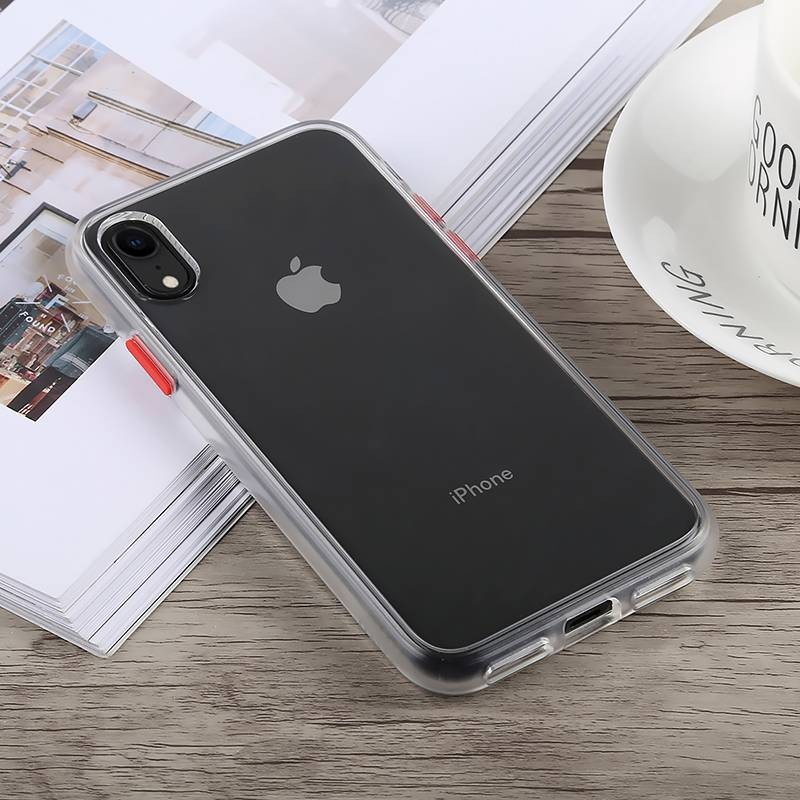 iPhone XR - Coque TOTU DESIGN Gingle Series - Double Matière Polycarbonate & Silicone