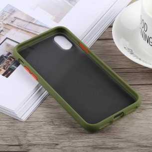 iPhone XS Max - Coque TOTU DESIGN Gingle Series - Double Matière Polycarbonate & Silicone