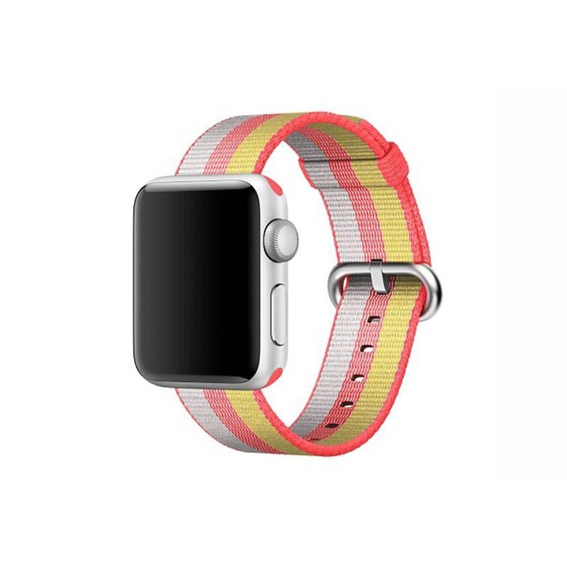 Bracelet Nylon pour Apple Watch - Fermeture par Boucle - Jaune